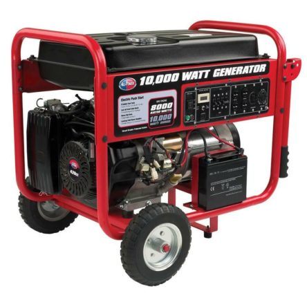 New All Power America 10000 Watts Electric Start Gasoline Generator APGG10000