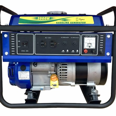 NEW Sigma Gas Engine Portable Generator 2000 Watts 4 Stroke 2 GALLON TANK EPA