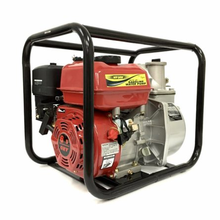 Miami Pickup New High Quality 3 in. 6.5HP Gasoline Engine Semi-Trash Water Pump