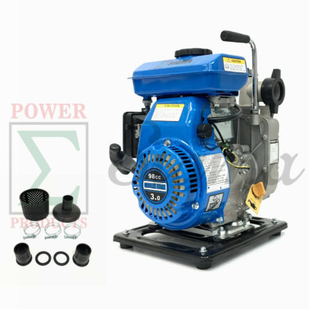 Miami Pick Industrial 3HP Gas Clean Water Pump 1.5″ NPT 98CC 4 Stroke Air Cool