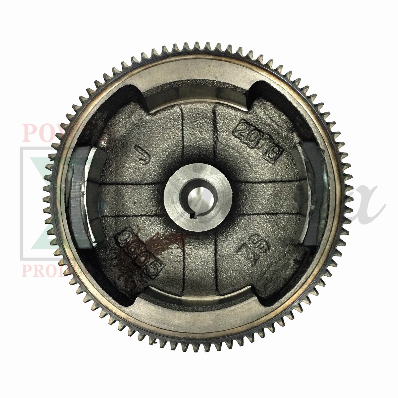 GX160 GX200 5 5HP 6 5HP Flywheel Ring Gear With Magnet & Charging Coil For  Honda