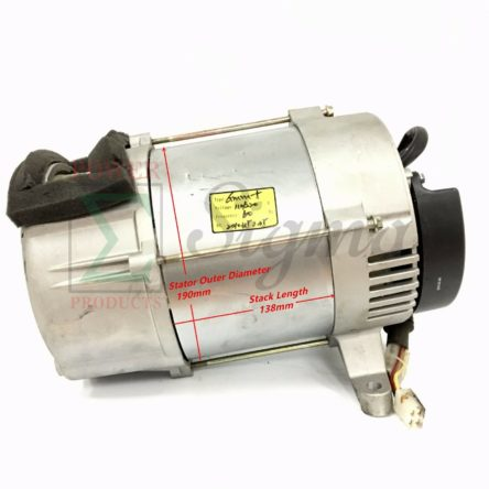 Tapered Alternator Rated 5000 Watt Brushless Diesel Silent Generator W/Capacitor