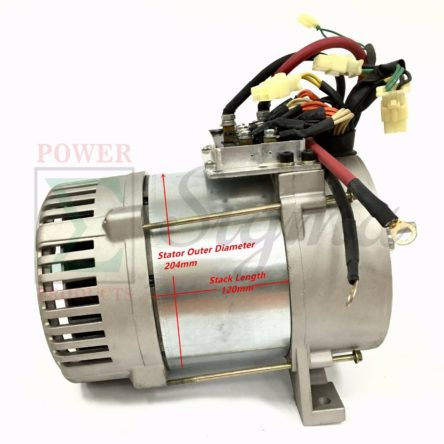 Tapered Cone Alternator Rated 5000 Watt For Welding Diesel Generator Head