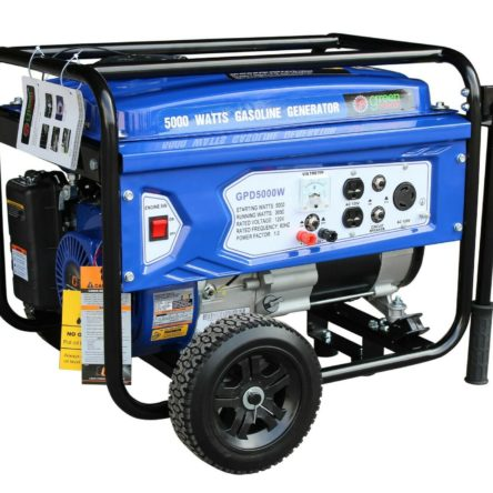 Miami Pickup Green Power 5000/3850 Watts 223cc 7.5HP Gas Generator