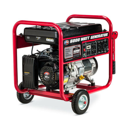 Miami Pickup All Power America APGG6000 5000/6000 Watts 11HP Gas Generator